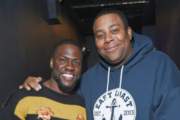 Kevin Hart Actor and Comedian Kevin Hart Is Interviewed by Kenan Thompson for SiriusXM's 'Town Hall' Series