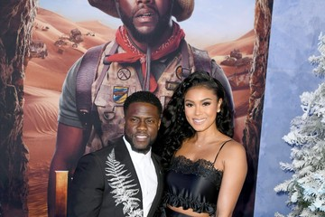 """Kevin Hart Eniko Parrish Premiere Of Sony Pictures' """"Jumanji: The Next Level"""" - Red Carpet"""