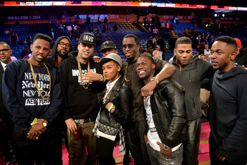 Kevin Hart Nelly State Farm All-Star Saturday Night - NBA All-Star Weekend 2014