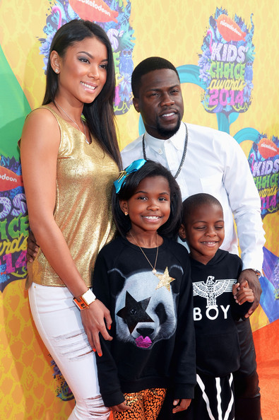 Family photo of the actor, engaged to Eniko Parrish, famous for Scary Movie 3 & Little Fockers.