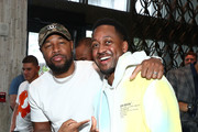 Tank and Jaleel White attend the Kevin Hart and The Plastic Cup Boyz Special Edition of SiriusXM's Straight From The Hart Live From The W Hotel South Beach on February 01, 2020 in Miami, Florida.