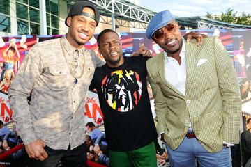 """Kevin Hart Will Packer Sony Pictures """"THINK LIKE A MAN TOO"""" Houston Red Carpet Screening With Kevin Hart, Terrence J And Drake"""