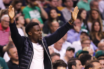 Kevin Hart Philadelphia 76ers Vs. Boston Celtics - Game Two