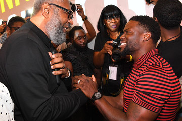 Kevin Hart 'Night School' Actor Kevin Hart And Producer Will Packer Engage With Students At Morehouse College For 'REAL Talk' Event