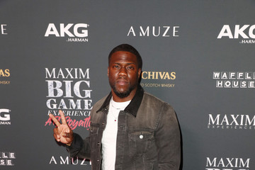 Kevin Hart The Maxim Big Game Experience - Inside