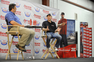 Steve Post Kevin Harvick Visits Darlington Raceway