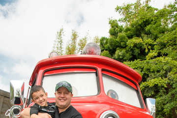 Kevin James Kevin James And Son Visit Disney's California Adventure