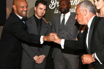 Kevin Jonas BOVET 1822 Presents 8th Annual Hollywood Domino Gala Benefiting Artists For Peace And Justice