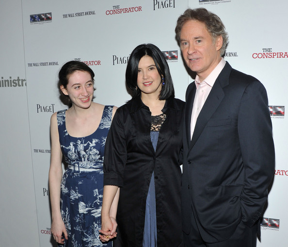 Family photo of the actor, married to Phoebe Cates, famous for The Big Chill & The January Man.