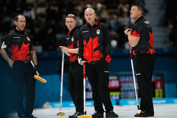 Kevin Koe Curling - Winter Olympics Day 5