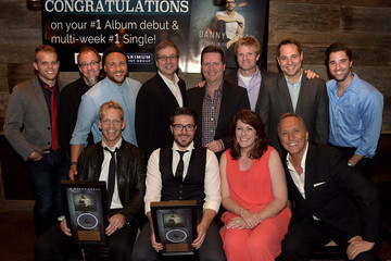 Kevin Lee Danny Gokey Celebrates His Number One Song