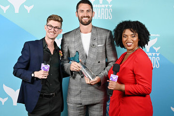 Kevin Love 11th Annual Shorty Awards - Winner's Cave