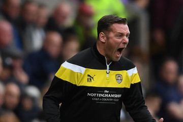 Kevin Nolan Notts County v Forest Green Rovers - Sky Bet League Two