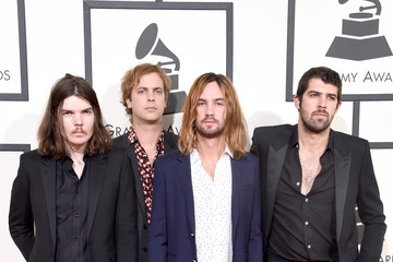 Kevin Parker Dominic Simper The 58th GRAMMY Awards - Arrivals