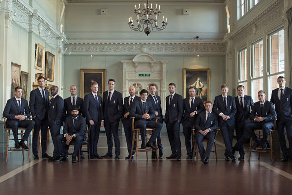 England Cricket Team Conference [event,room,official,team,suit,government,ceremony,formal wear,tourism,matt prior,boyd rankin,steven finn,l-r,england,australia,england cricket team,squad,conference,ashes]