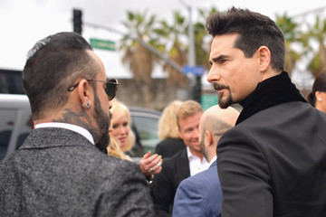 Kevin Richardson 61st Annual Grammy Awards - Red Carpet