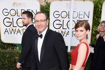 Kevin Spacey Arrivals at the Golden Globe Awards — Part 2