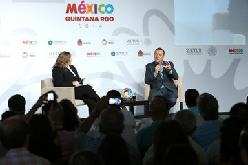Kevin Spacey Actor Kevin Spacey Guest Of Honor At The 2014 Tianguis Turistico In Cancun, Mexico