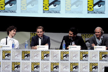 Kevin Zegers Godfrey Gao Sony And Screen Gems Panel - Comic-Con International 2013