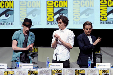 Kevin Zegers Jamie Campbell Bower Sony And Screen Gems Panel - Comic-Con International 2013