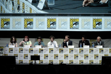 Kevin Zegers Lily Collins Sony And Screen Gems Panel - Comic-Con International 2013