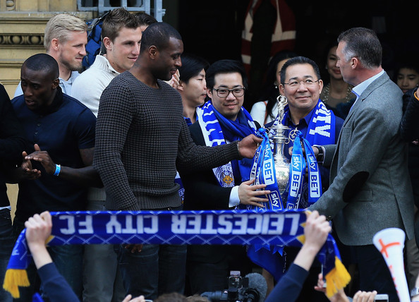 Leicester City Championship Winners Bus Parade