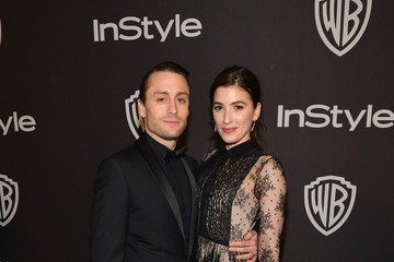 Kieran Culkin Jazz Charton The 2019 InStyle And Warner Bros. 76th Annual Golden Globe Awards Post-Party - Red Carpet