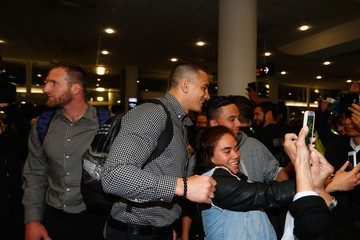 Kieran Read Sonny Bill Williams New Zealand All Blacks Depart For Rugby World Cup