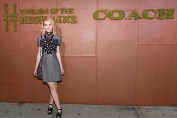 Kiernan Shipka Celebrities Attend the 5th Annual Coach And Friends Of The High Line Summer Party in NYC