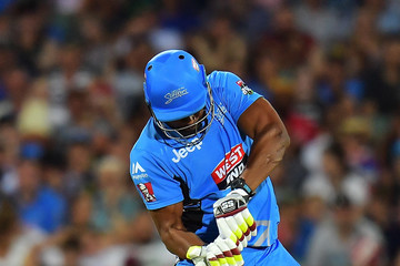 Kieron Pollard Big Bash League - Strikers v Renegades