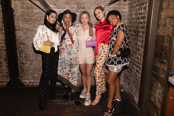 Kiersey Clemons  Private Event To Celebrate The Opening Of New Handbag Shop In Downtown Seattle