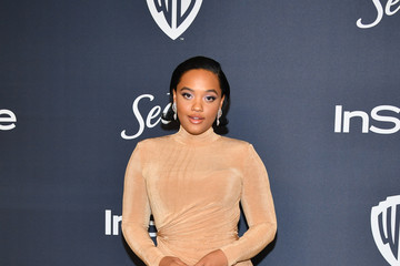 Kiersey Clemons 21st Annual Warner Bros. And InStyle Golden Globe After Party - Arrivals