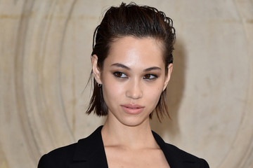Kiko Mizuhara Christian Dior : Photocall - Paris Fashion Week Womenswear Spring/Summer 2017