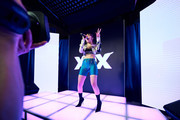 Charli XCX, performs at Martell HOME LIVE episode one. The event and performance were livestreamed worldwide on April 10, 2019 in Yonkers, New York.