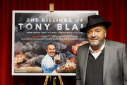George Galloway attends the premiere of his film The Killing$ Of Tony Blair at Curzon Soho on July 27, 2016 in London, England.