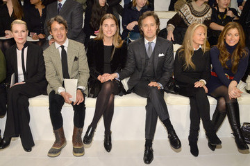 Kim Basinger Front Row at the Ralph Lauren Show