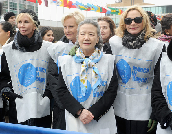 'March in March' to End Violence Against Women Event