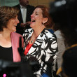 Kim Catullo Christine Quinn Votes in NYC Mayoral Primary