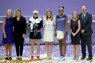 Kim Clijsters BNP Paribas WTA Finals Singapore Presented by SC Global - Day 8