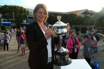 Kim Clijsters 2016 Australian Open - Day 13