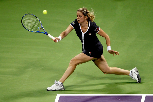 Kim Clijsters - WTA Championships - Doha 2010 - Day Three