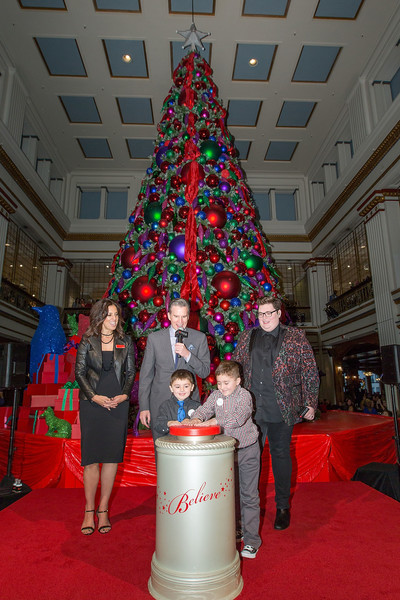 Macy's Celebrates 110th Annual Great Tree Lighting With Special Guest Jordan Smith