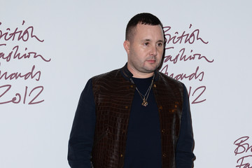 Kim Jones British Fashion Awards 2012 - Awards Room