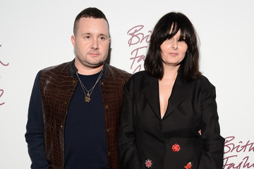 Kim Jones British Fashion Awards 2012 - Inside Arrivals