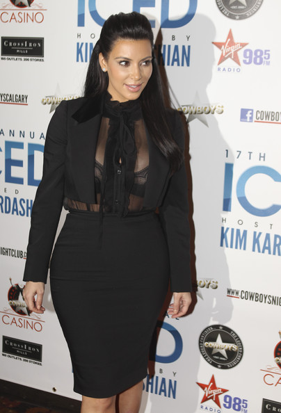 Kim+Kardashian in Kim Kardashian Hosts ICED