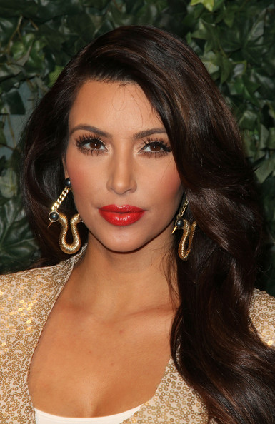 Kim Kardashian Kim Kardashian arrives at QVC Red Carpet Style Party on February 25, 2011 in Los Angeles, California.