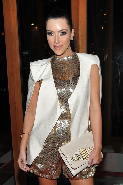 Kim Kardashian Television personality Kim Kardashian attends Vikram Chatwal's 40th Birthday celebration at Romera at the Dream Downtown on October 28, 2011 in New York City.