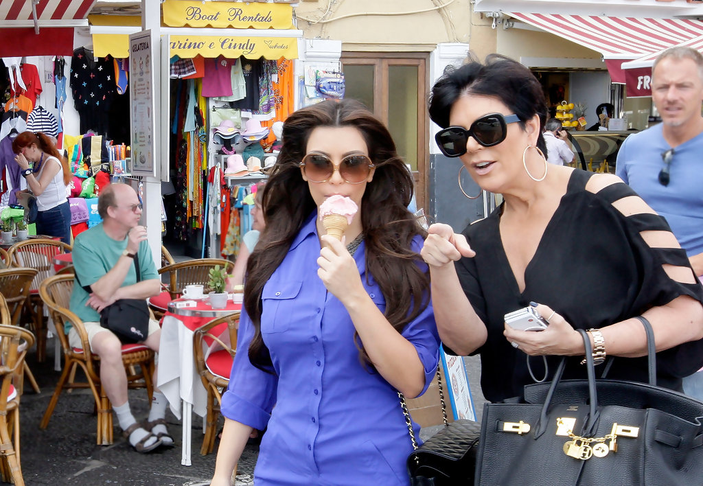 Ice Cream, You Scream - Kim Kardashian's Hottest Moments ...