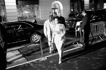 Kim Kardashian Balmain and Olivier Rousteing Celebrate After The Met Gala - Arrivals