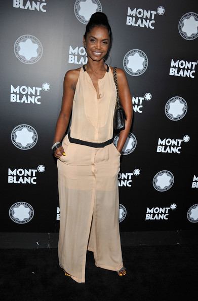 Kim Porter Actress Kim Porter arrives at Montblanc's 2012 Montblanc de la Culture Arts Patronage Award Ceremony honoring Quincy Jones at Chateau Marmont on October 2, 2012 in Los Angeles, California.
